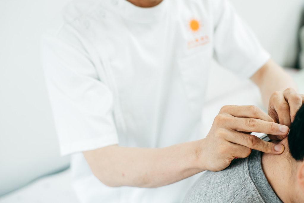 鍼灸施術研修